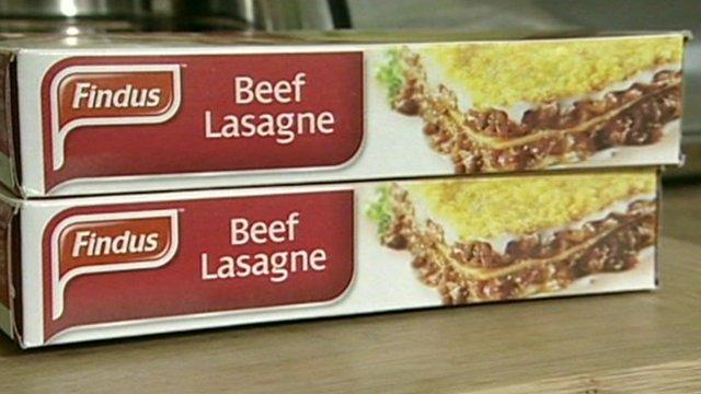 Findus beef lasagne