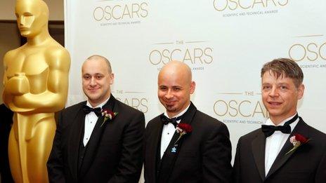 Simon Clutterbuck, James Jacobs and Dr. Richard Dorlin