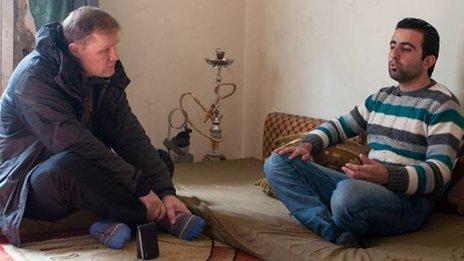 Paul Wood (left) and Ahmed Idriss
