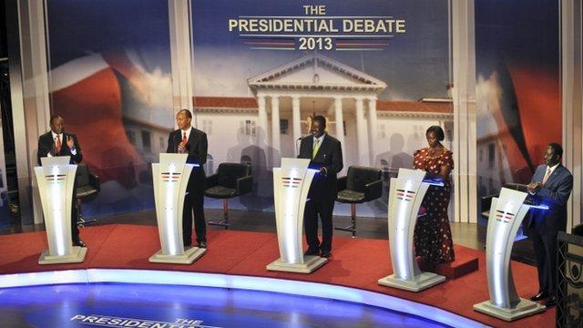 Kenyan presidential candidates