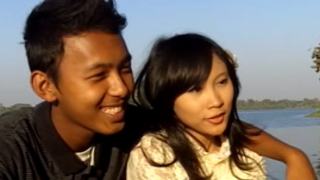 Zin and Yamin in Rangoon, Burma