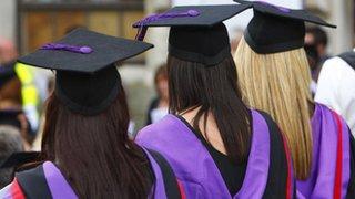Graduates from a British university