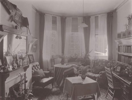 1890s room in Royal Holloway