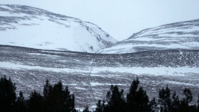 Chalamain Gap area of the Cairngorms
