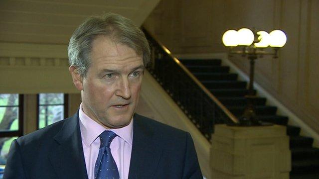 Environment secretary Owen Paterson MP