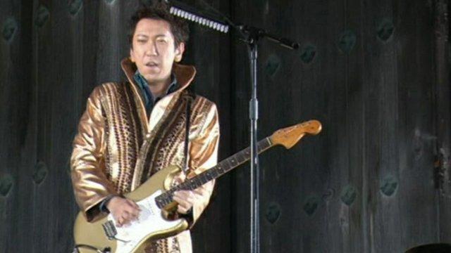 Guitarist Tomoyasu Hotei