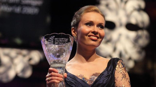 Former BBC Cardiff Singer of the World winner Ekaterina Shcherbachenko