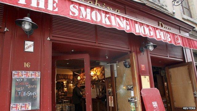 The Smoking Dog pub
