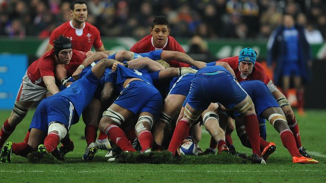 France versus Wales, 2013 Six Nations