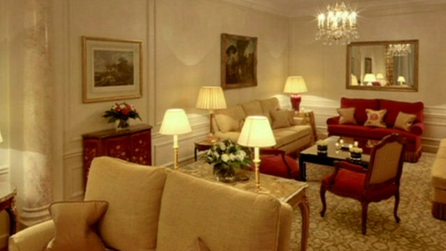 Lounge of The Imperial Suite