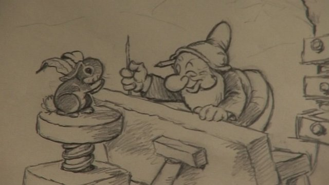 Original drawing from Walt Disney's Snow White