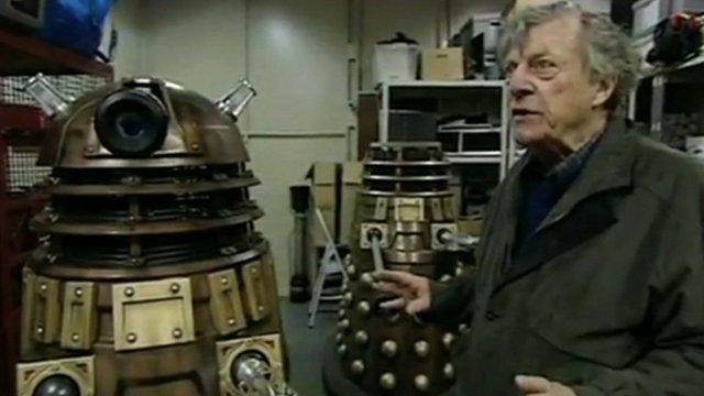 Ray Cusick with Dalek