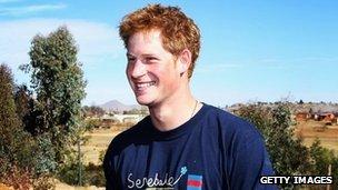 Prince Harry - Sentebale Charity