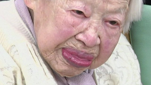 Misao Okawa, 114 years old