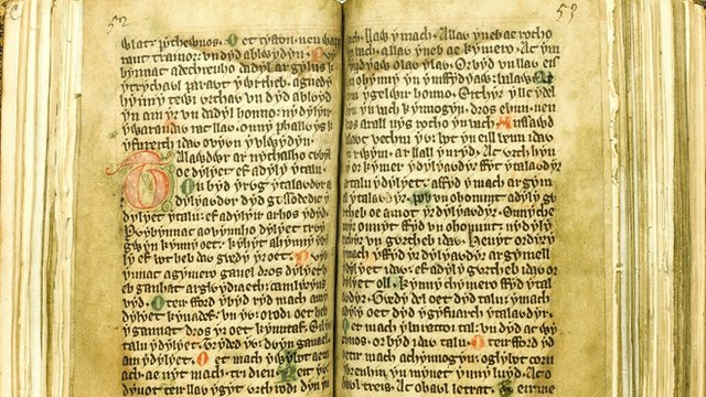 The Laws of Hywel Dda (generic medieval manuscript)
