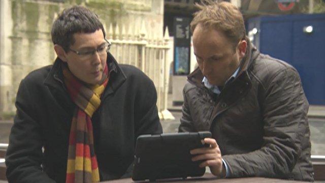 Tom Redfern watches CCTV footage