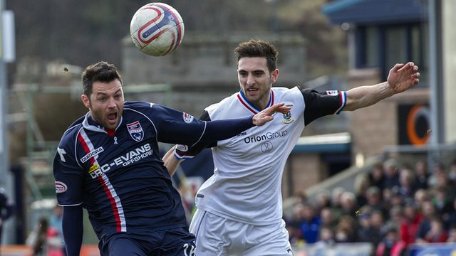 Ivan Sproule and Graeme Shinnie