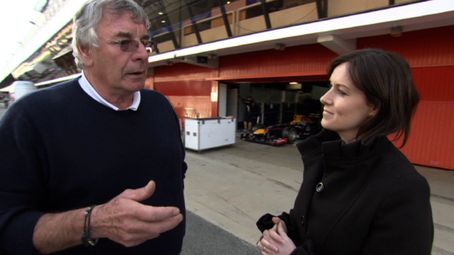 BBC Sport chief Formula One analyst Gary Anderson (left)