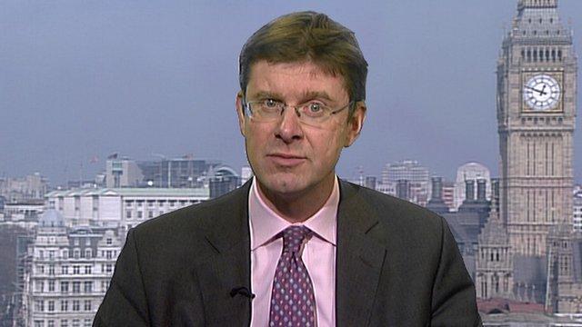 Treasury Minister Greg Clark