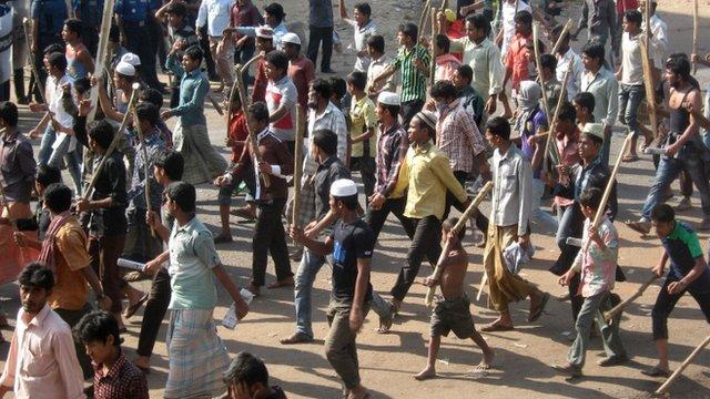 Attacks on Bangladesh minority communities 'continue - BBC News