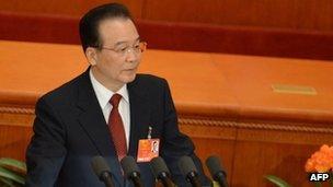 Wen Jiabao, 5 March