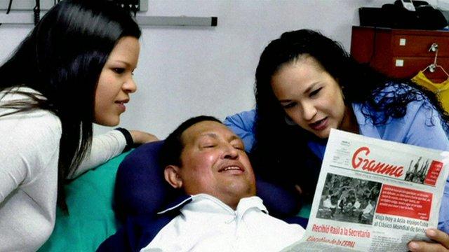 Photo of President Chavez on 28/2/13