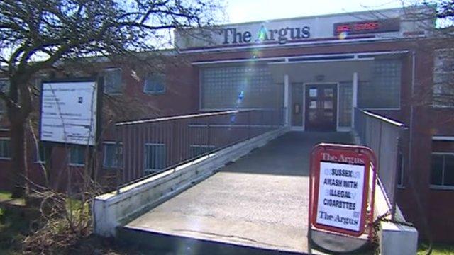 The Argus in Brighton