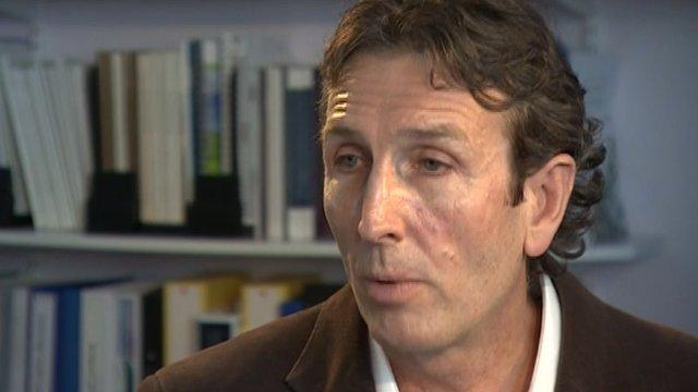 Addenbrooke's Hospital Chief Executive Keith McNeil