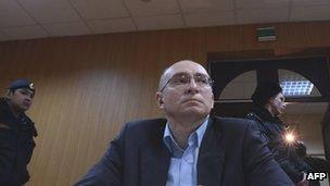 Dmitry Kratov in court, 28 Dec 12