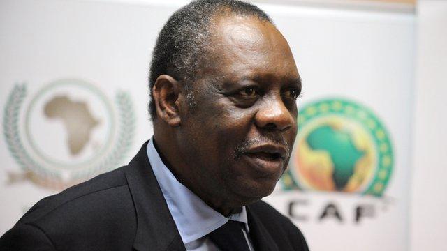 Confederation of African Football president Issa Hayatou
