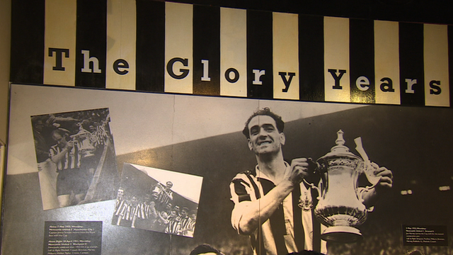 Newcastle's glory years at the Toon Times exhibition
