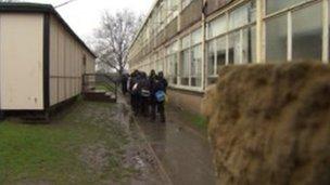 Dilapidated school