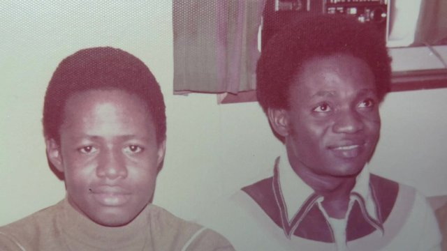 Peter Turkson and Martin Essilfie as young men