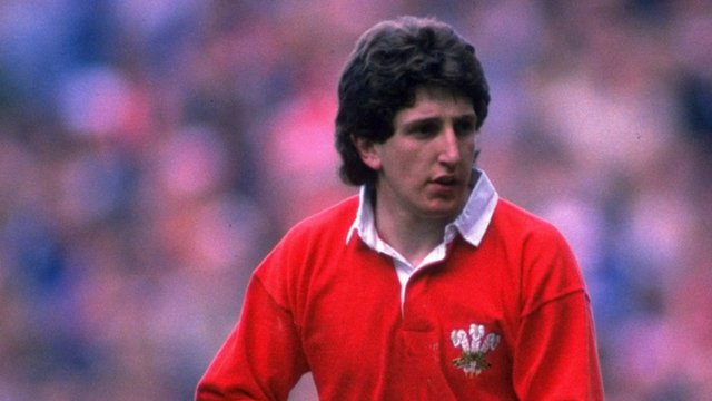 Former Wales Fly-Half Jonathan Davies