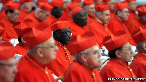 Cardinals in the Vatican