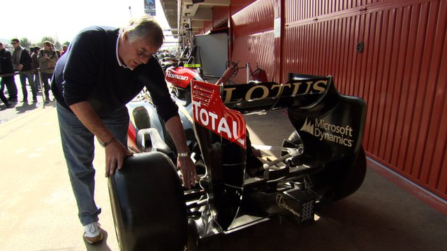 Gary Anderson looks at the 2013 F1 Lotus