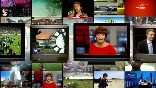 TV images