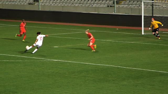 England's Rachel Yankee scores Cyprus Cup winner