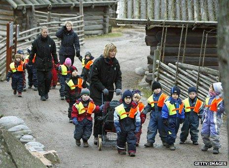 Swedish children