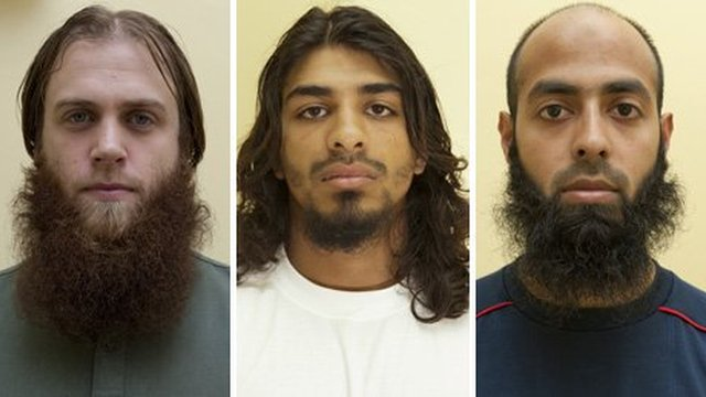 Richard Dart, Imram Mahmood and Jahangir Alom were arrested in the run-up to the Olympic Games