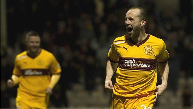 Motherwell forward James McFadden