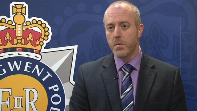 Det Supt Peter Jones of Gwent Police