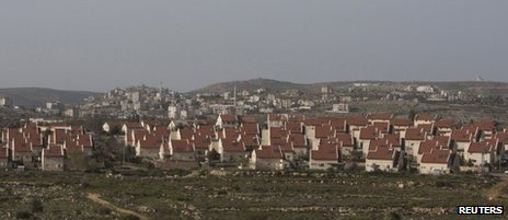 A general view of the West Bank Jewish settlement of Ofra, north of Ramallah is seen March 12, 2013