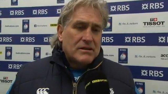 Scotland interim coach Scott Johnson