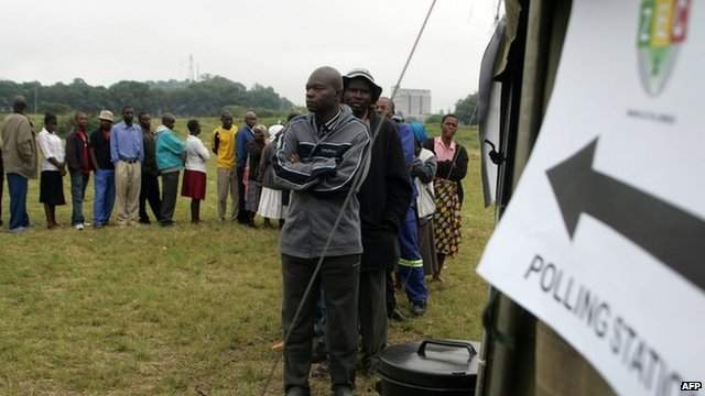 Zimbabweans turn out in their numbers to vote