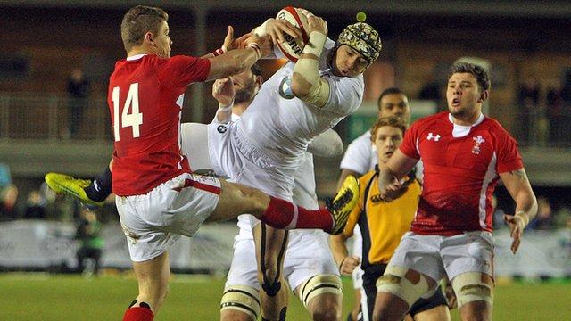 Wales U20s v England U20s