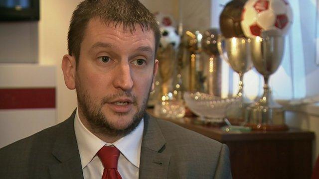 Accrington Stanley managing director Rob Heys