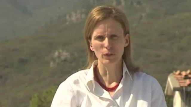 The BBC's Orla Guerin
