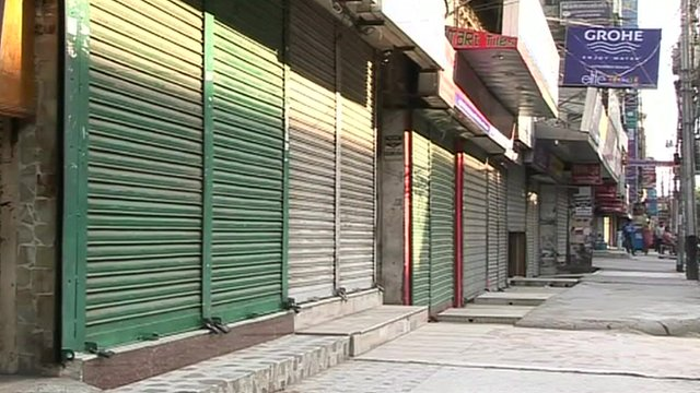 Shops have been closed across Bangladesh