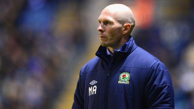 Sacked Blackburn Manager Michael Appleton